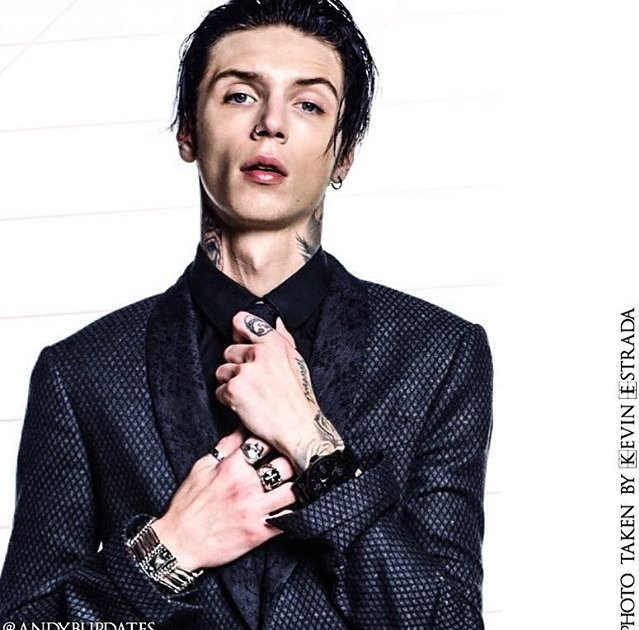 "Andy Biersack ITALY on Twitter: ""#NEW photos of #AndyBLACK ..."