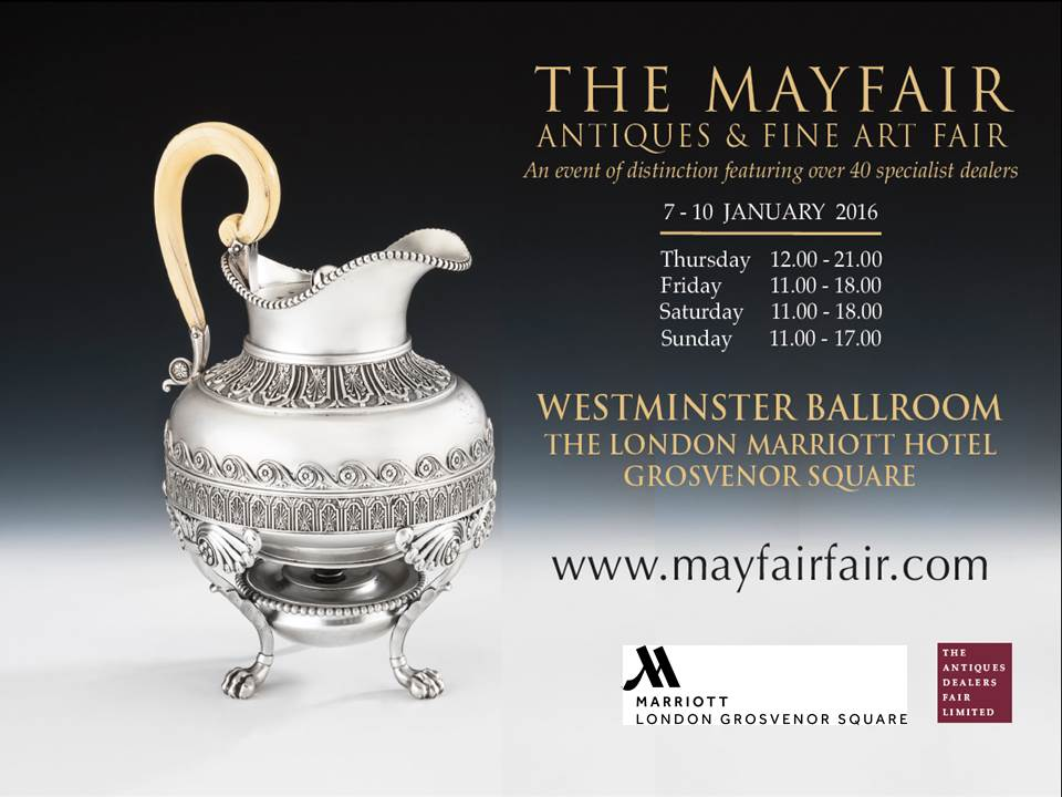 Come and join us for The Mayfair Antiques & Fine Art Fair! We look forward to seeing you! @ADFLfairs https://t.co/dwC6ki85ZK