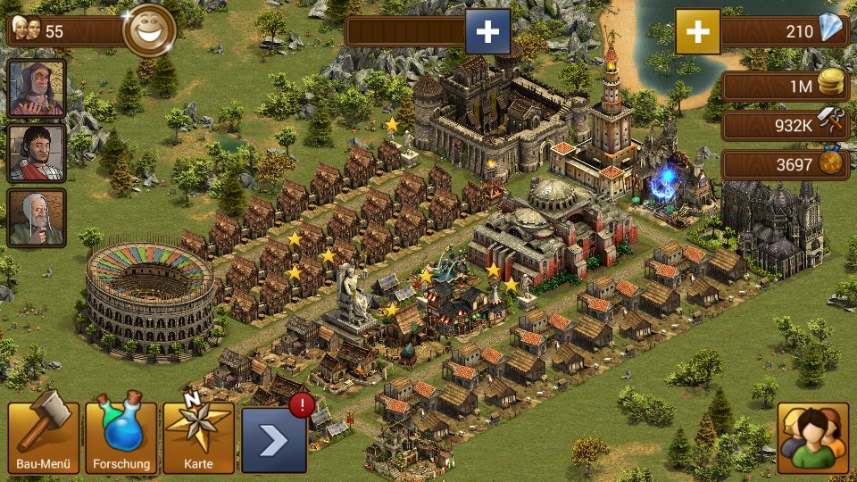 Forge Of Empires On Twitter Tweet A Screenshot Of Your City And