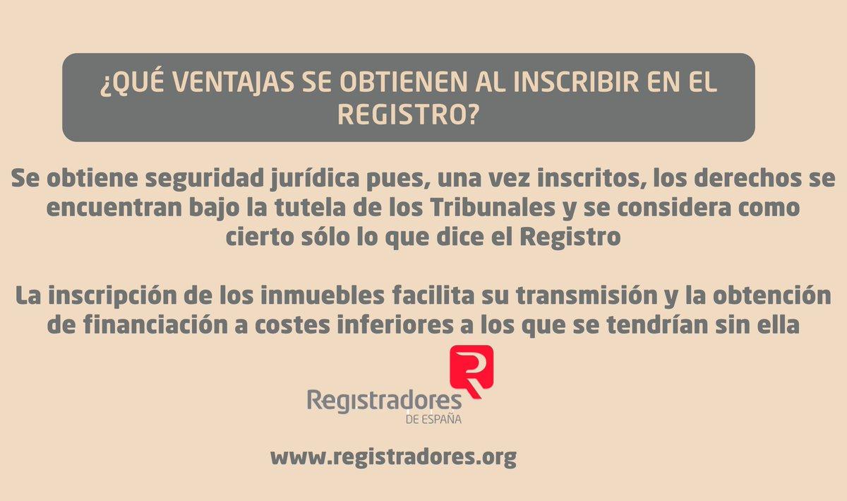 Registradores org arona for Registro de bienes muebles madrid