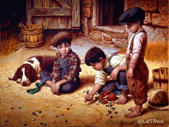 لوحات فنية زيتية