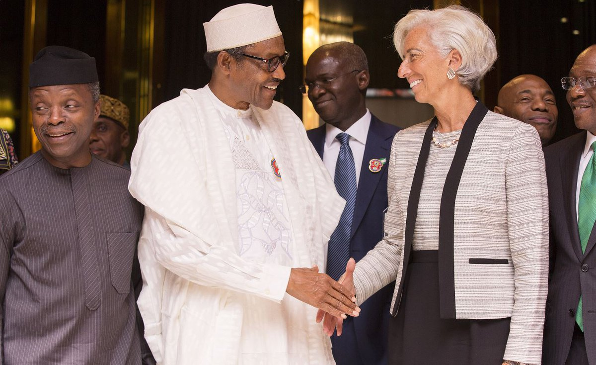 Just met President Buhari of Nigeria. Impressed with government's response to challenge of sustained, low oil prices