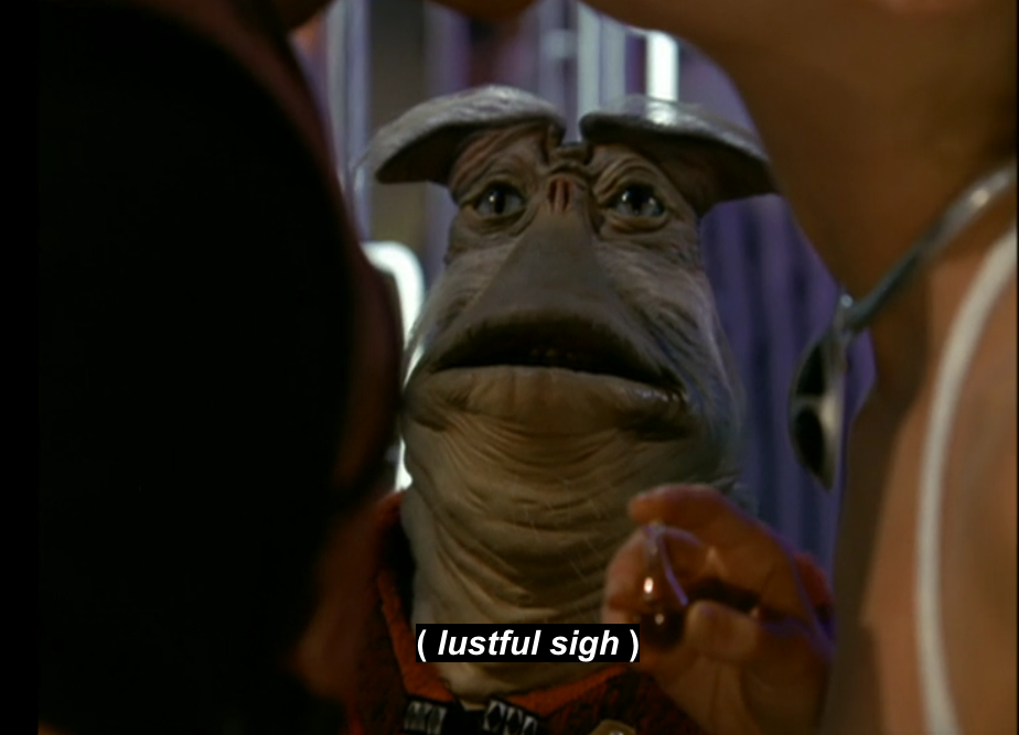 Rygel from the show 'Farscape'