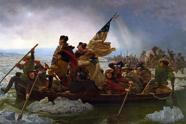 1776: Washington's Famous Crossing of the Delaware