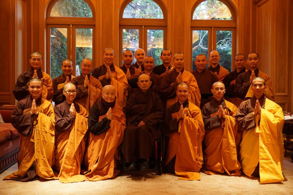 Thich Nhat Hanh On Twitter An Update On Thay S Health 2015 12