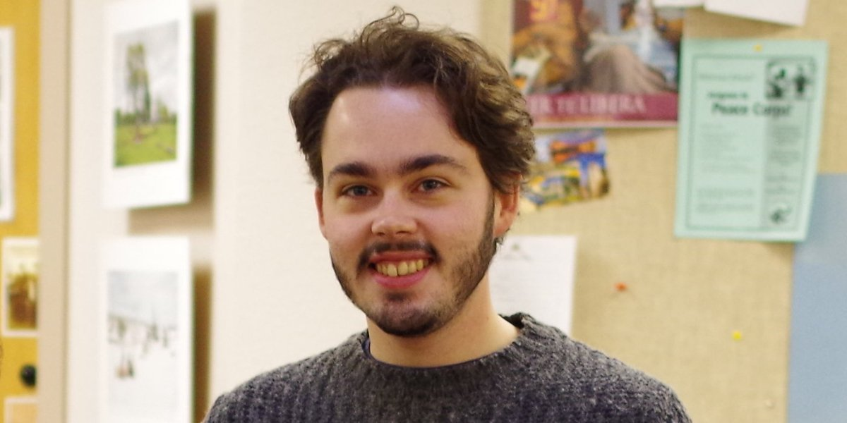 The @newsregister talked holidays with Clement Hossaert, a #Fulbright scholar at Linfield. https://t.co/0newO9ZHZX https://t.co/o98gQXc7br
