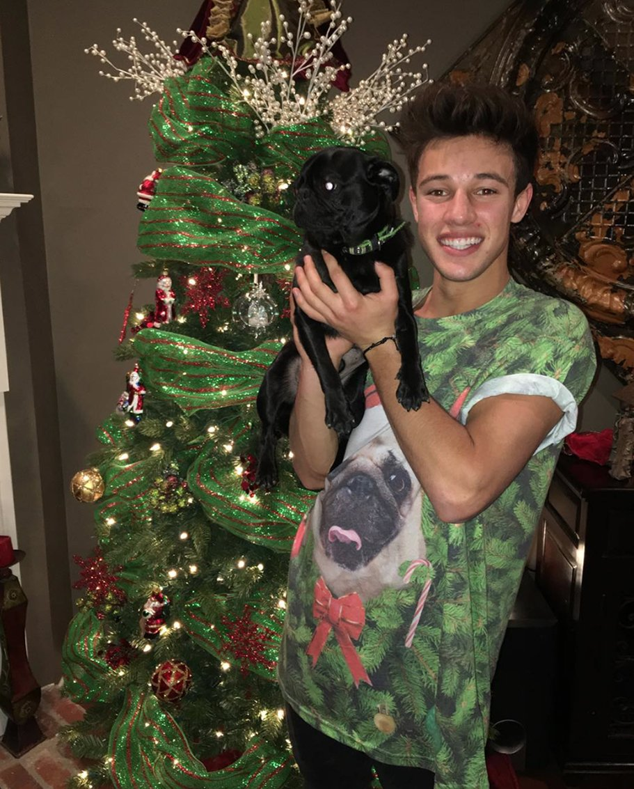 Can we agree @CameronDallas is winning holiday style in his #HM shirt & matching accessory? https://t.co/mpDd3AwGUQ https://t.co/4qRaewUB6V