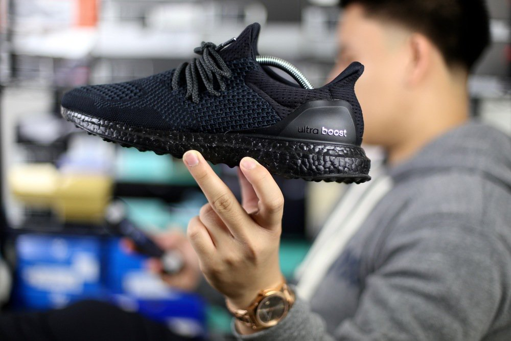 46eb5067a0bf1 Custom All-Black Adidas Ultra Boost Uncaged via  BayAreaShoeHead http   www. sneakershouts.com news 2015 12 24 custom-all-black-adidas-ultra-boost- uncaged … ...