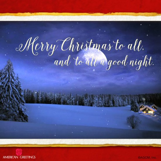 600 pm 24 dec 2015 - Merry Christmas To All And To All A Good Night