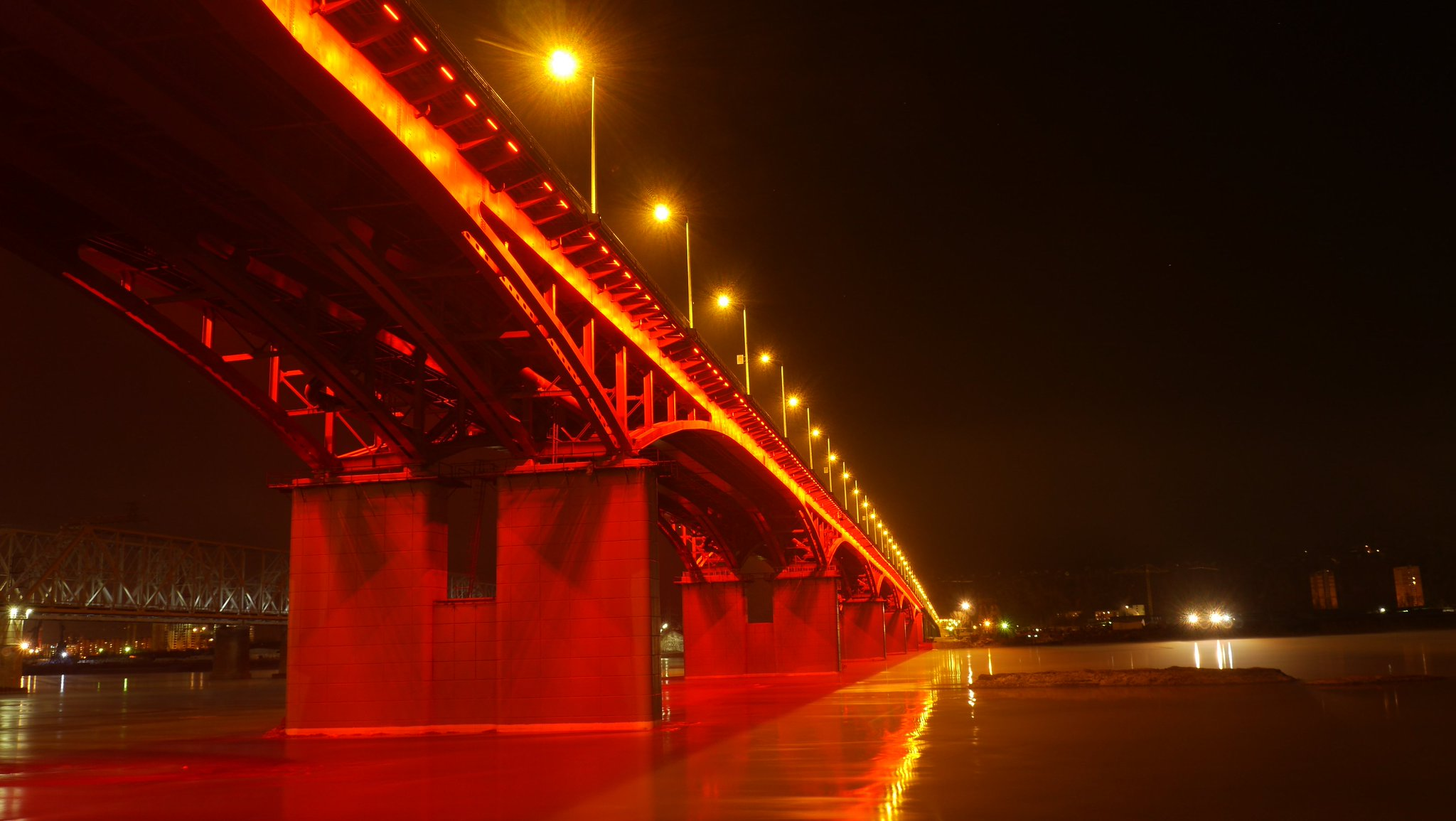 новый мост в красноярске фото новая капля ледяной