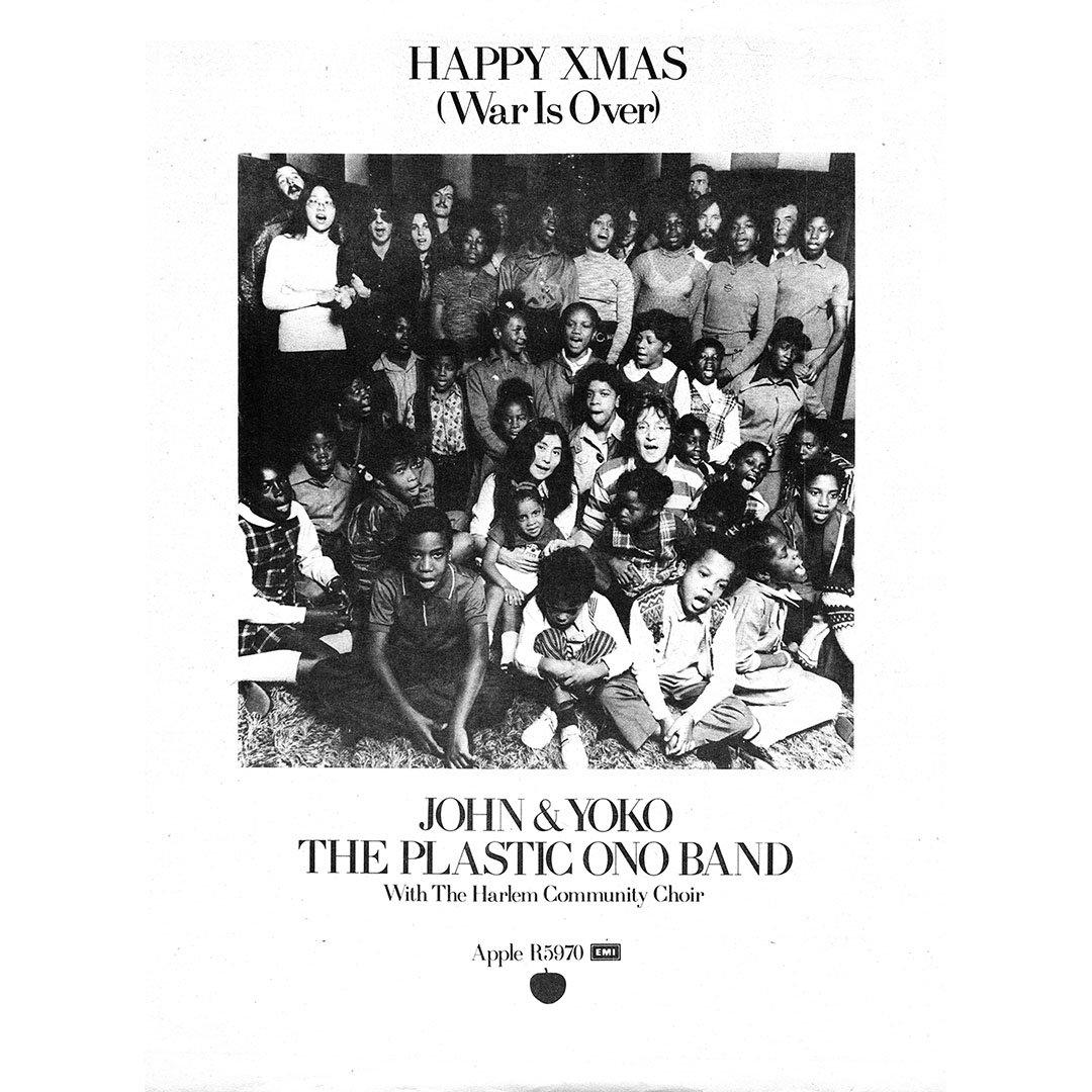 John Lennon On Twitter A Very Merry Xmas A Happy New Year Lets