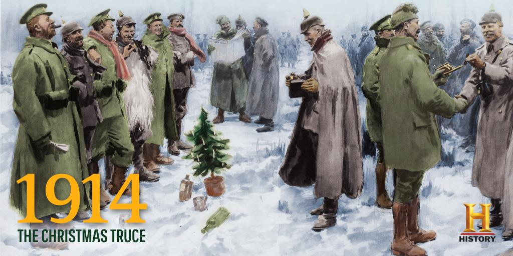 On #ThisDayInHistory 1914, all troops engaged in #WWI cease fire for the #Christmas Truce. https://t.co/zYKGwkXbOI