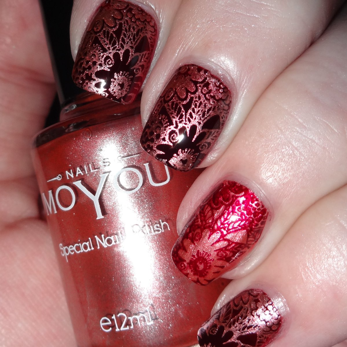 Wendy Stanbury On Twitter Moyou Nails Plate 403 Crimson Sky