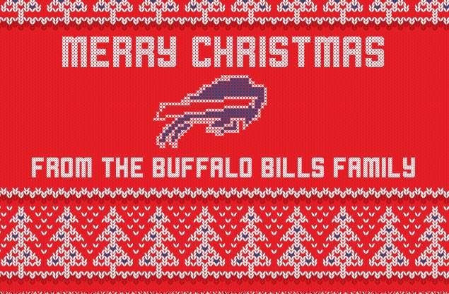 Buffalo Bills On Twitter Merry Christmas From The Buffalo