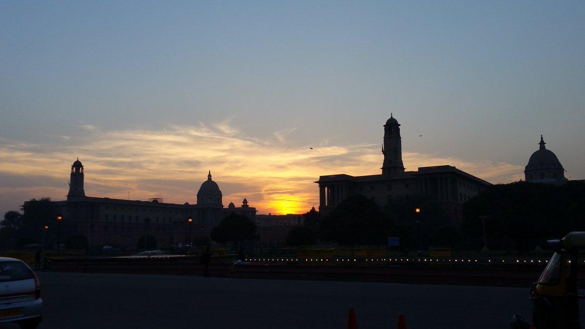 Rahul Shrivastava On Twitter First Gorgeous Delhi Winter Sunset X