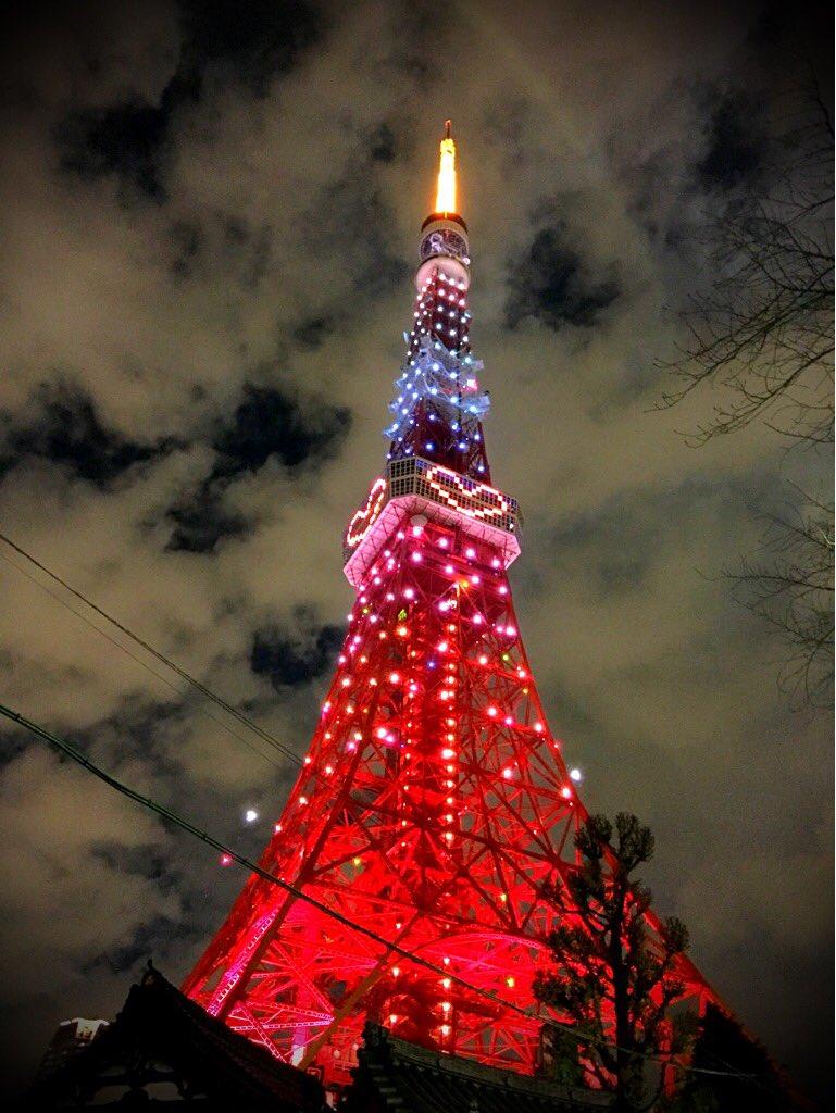 かわいっしょ!みて!この東京タワー! https://t.co/Npc1fHQftG