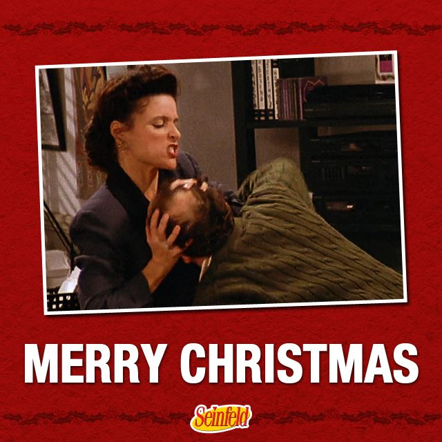 Seinfeld Christmas.Seinfeld On Twitter You Want A Christmas Card You Want A