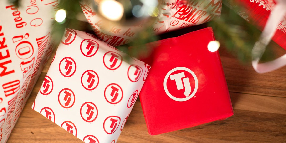 Merry Christmas, TJ® fans! RT for a chance to win a little gift from us.