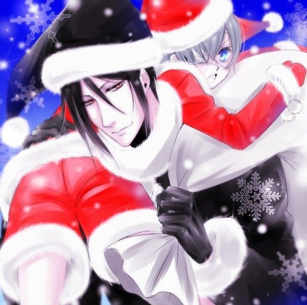 blackbutler kuroshitsuji ciel sebastian jinko art by jinko227 twitter merry chri httpifttt1ug6nyj pictwittercomyyngab3btp - Black Butler Christmas