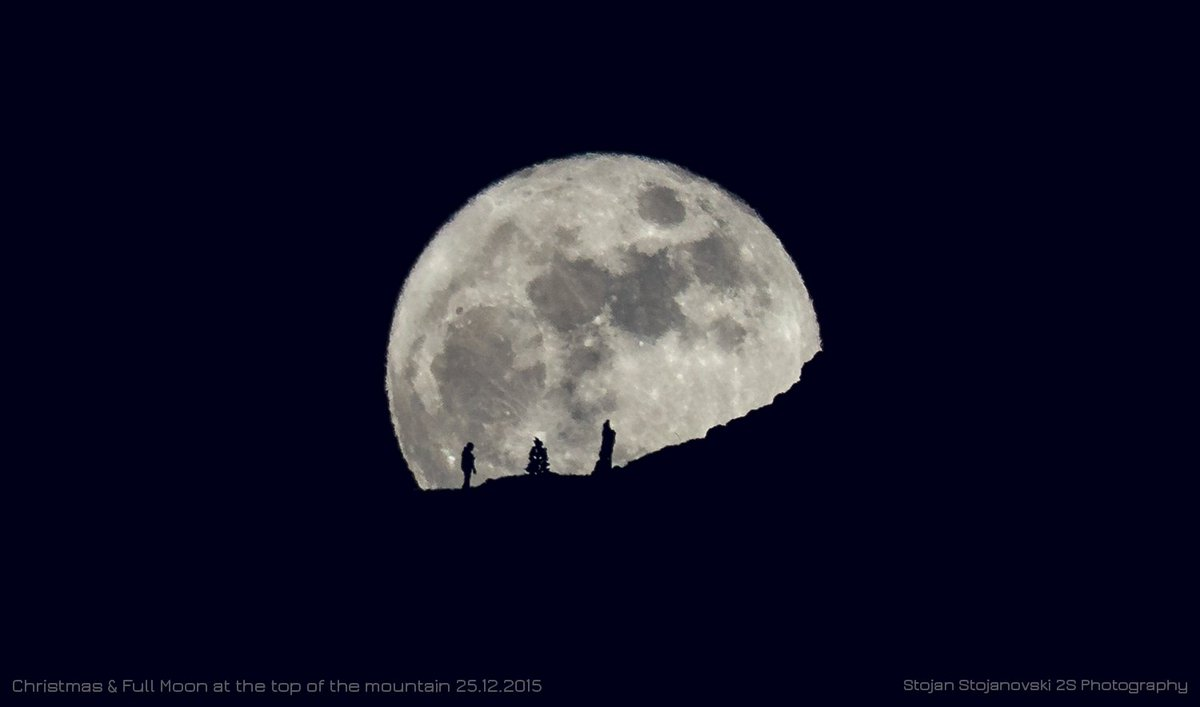 First Christmas full moon in nearly 40 years seen worldwide