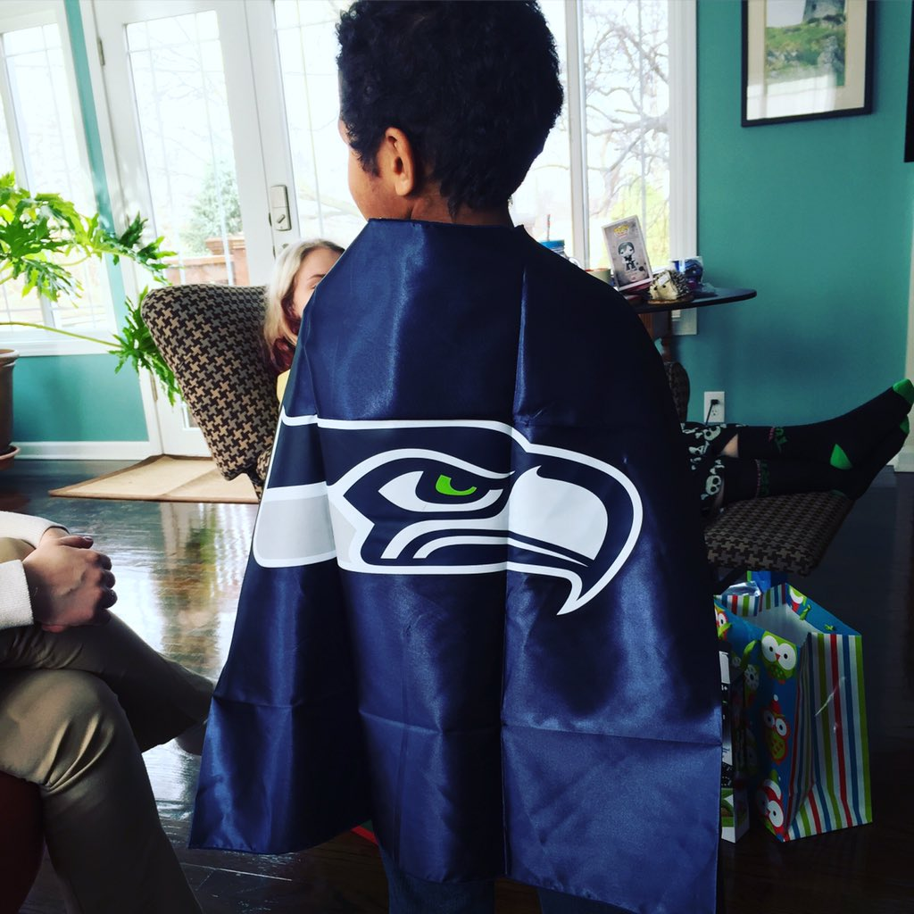 My nephew is @Seahawks Super Hero!!! #Christmas2015 https://t.co/DDX43OZcQs