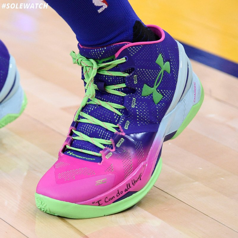 64b03c8e8c0  SoleWatch   Warriors  StephenCurry30 wearing the