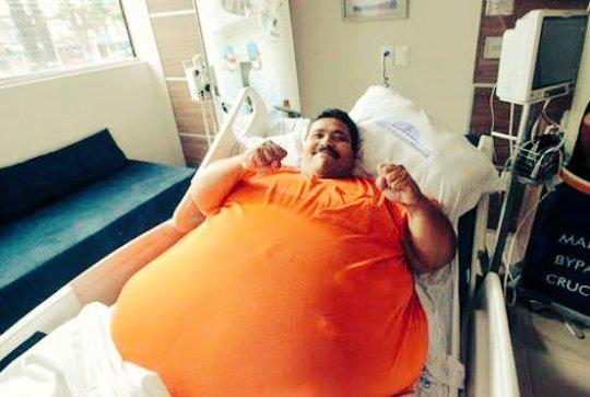 L'uomo più grasso del mondo è morto in Messico