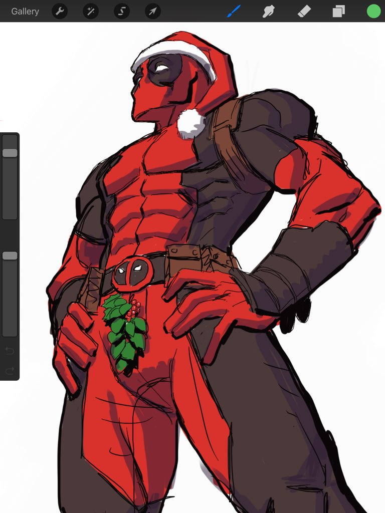 Hope you're all having a great Christmas! #Deadpool #Christmas #kissme https://t.co/2mIZdoZqIb