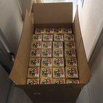 【サンタさんキタ!】納豆一年分ッ!…冷凍庫もおまけに欲しかった!