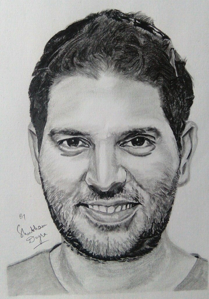 Yuvstrong12 pencil sketch by me i hope u notice it yuvipic twitter com nmwbxbixdc yuvraj singh