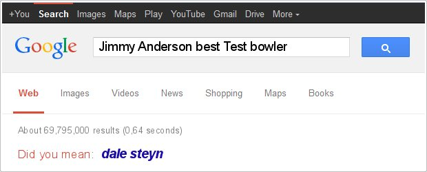 Just a bit of Google banter to get the series going... https://t.co/zHKLB4Lx0m