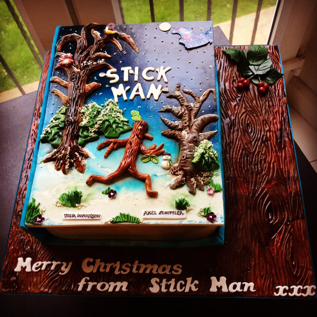Tafadzwa Chigudu on Twitter Stick Man Book Christmas Cake