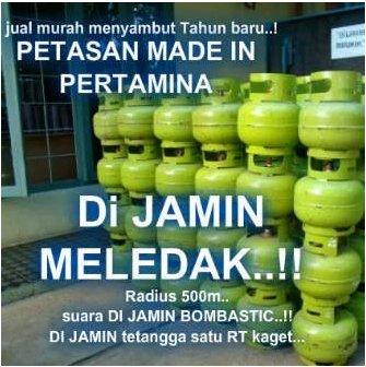 Petasan Gas Elpiji