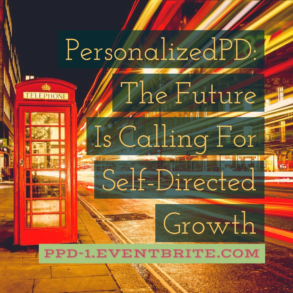 The tipping point has occurred #PersonalizedPD #ESSA https://t.co/fmp2HzWRAo https://t.co/pZIpGC0HDK