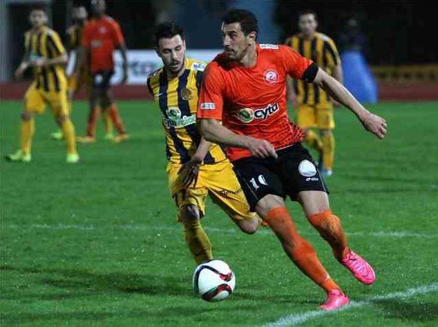 Bojan Markoski playing for Ayia Napa