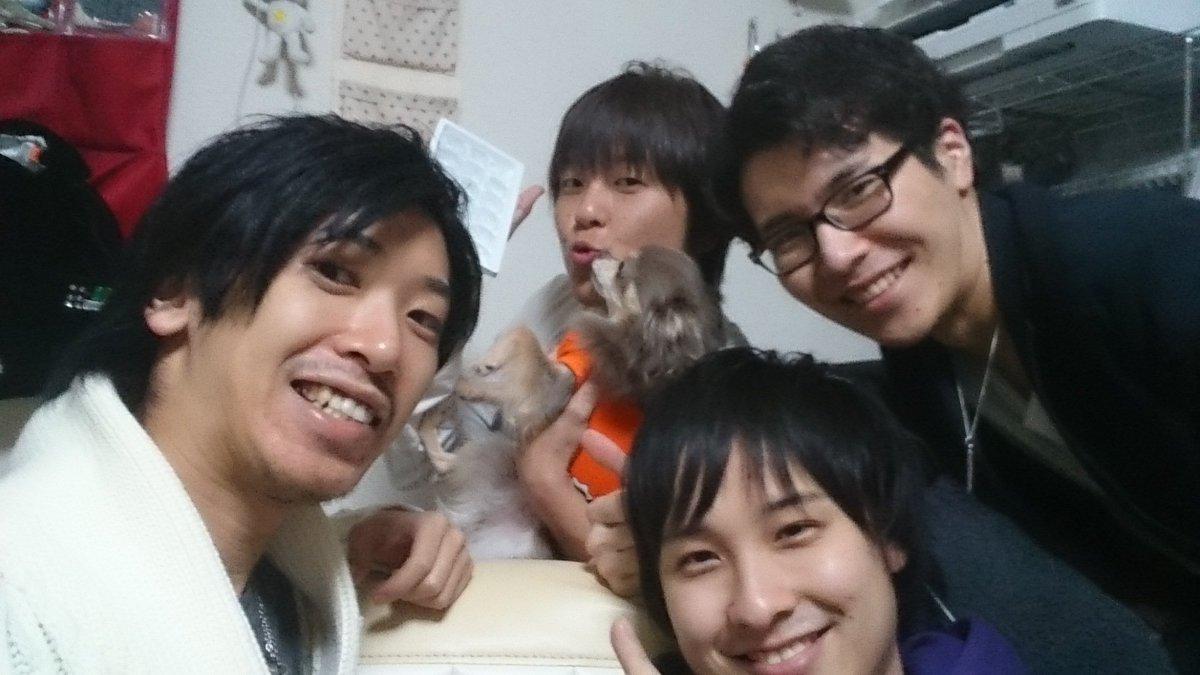 """朝比奈拓見 en Twitter: """"ケンユウオフィス男子飲み会in成瀬家♪ まこ ..."""