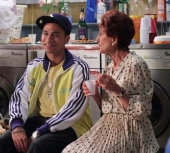 This is how I'm going to remember him... with his beloved Mrs B #EastEnders #Fatboy @RickyJNorwood *sobs* https://t.co/iJJyUGO4XV