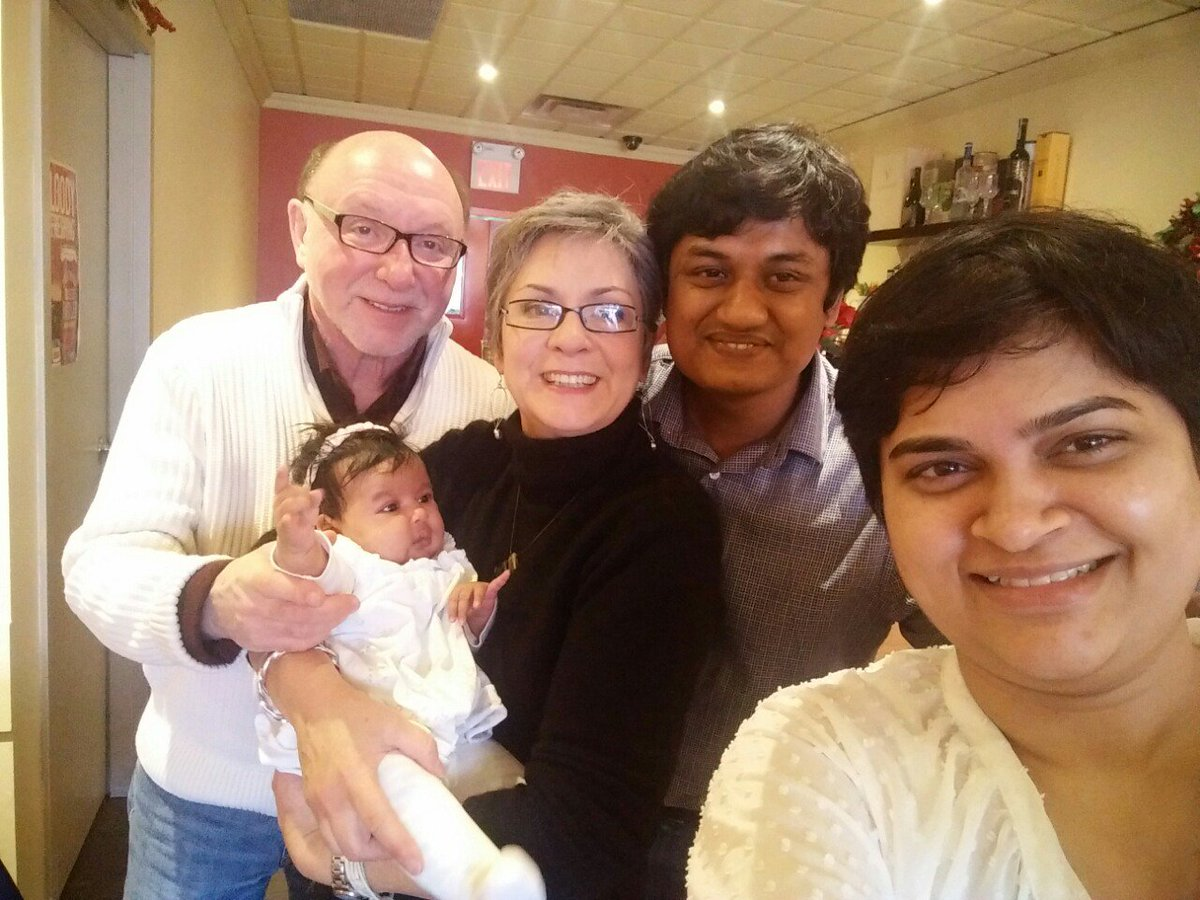 Visiting with Raihan and his family in 2015.