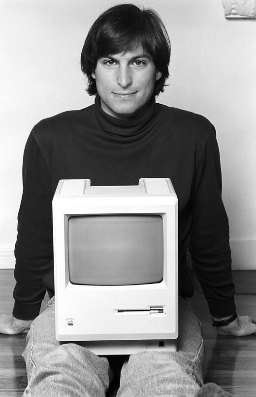 history in pictures on twitter quotsteve jobs 1984