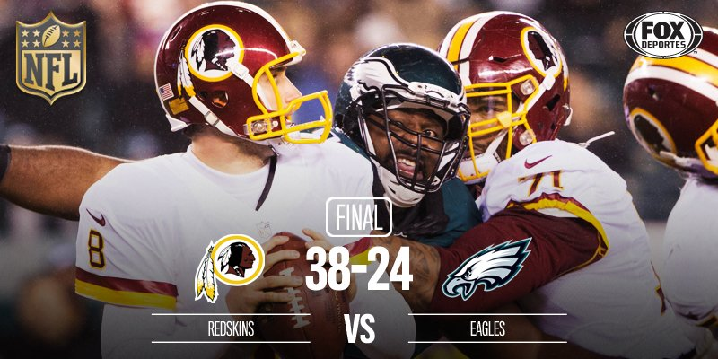 Fox Deportes On Twitter Final Redskins Vence A Eagles Como