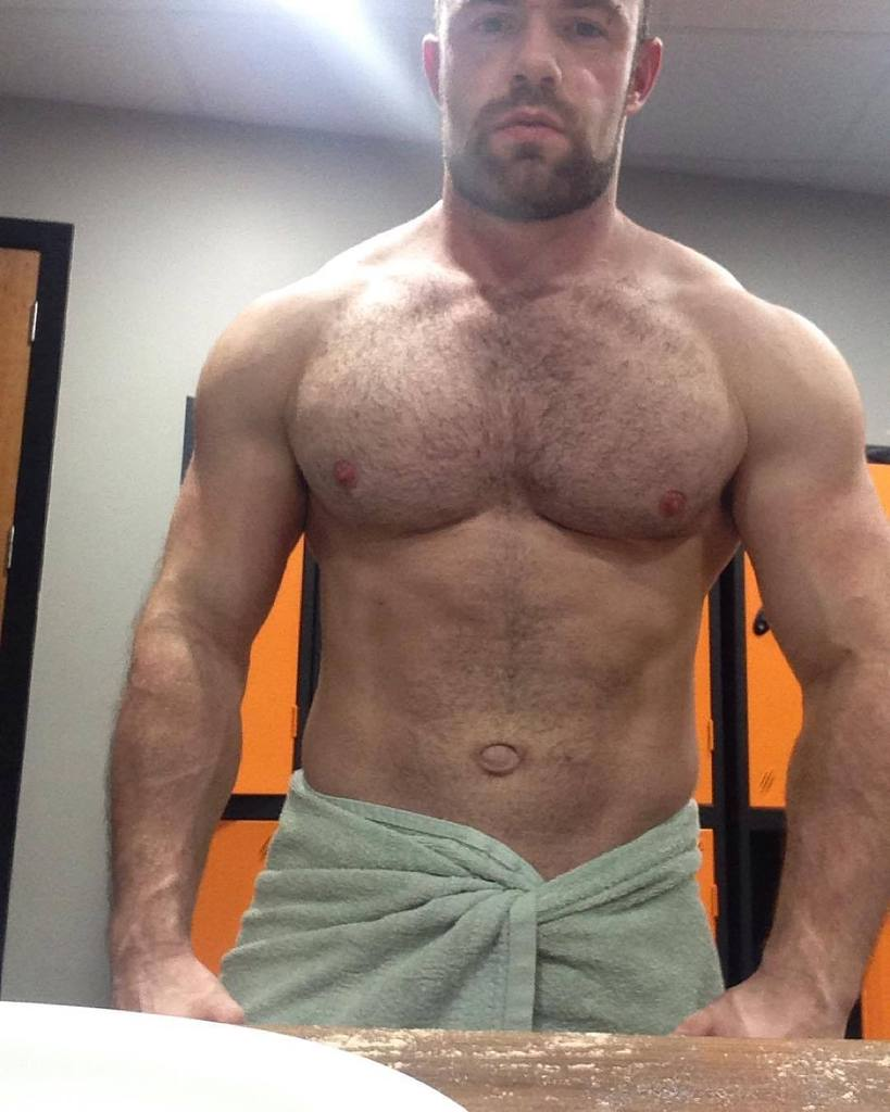 Bodybuilders Hairy 38