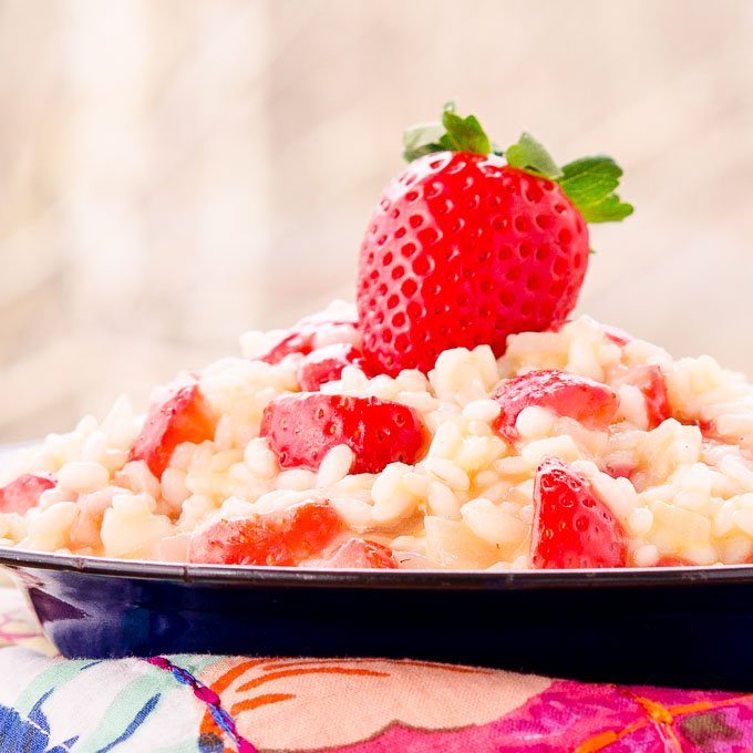 Strawberry Risotto for a tasty winter meal: https://t.co/GC4PbzCYXG #SundaySupper #FLStrawberry @FlaStrawberries https://t.co/ye4RaKxe5B