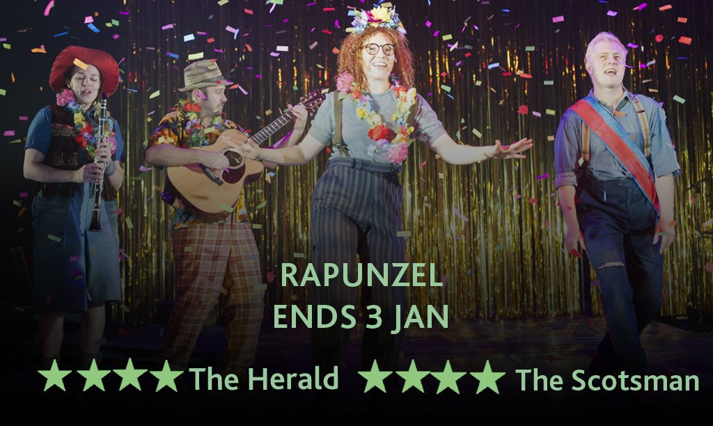COMPETITION TIME! RT to win a family ticket (up to 5 people) to #Rapunzel on Sat 2 Jan at 2pm or 7pm https://t.co/SNEINxuF7C