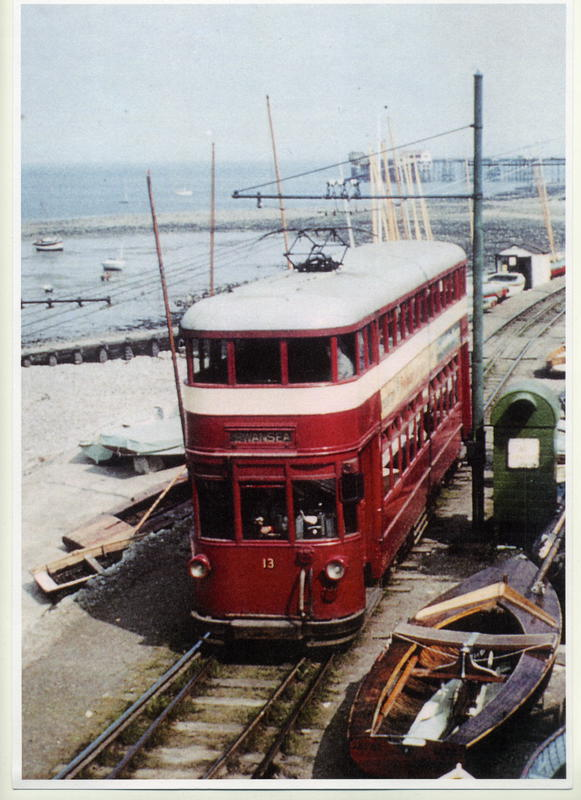 CXPYiJmWsAAlVaY - The Swansea & Mumbles Railway