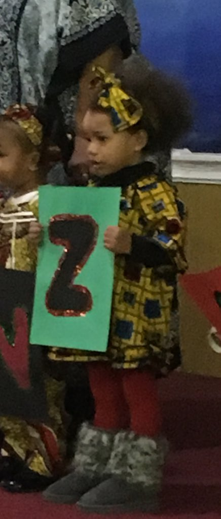 """Remember when she was the Z in Kwanzaa? I reviewed the tape and she said zawadi means """"my presents."""" (@farajiDC)"""