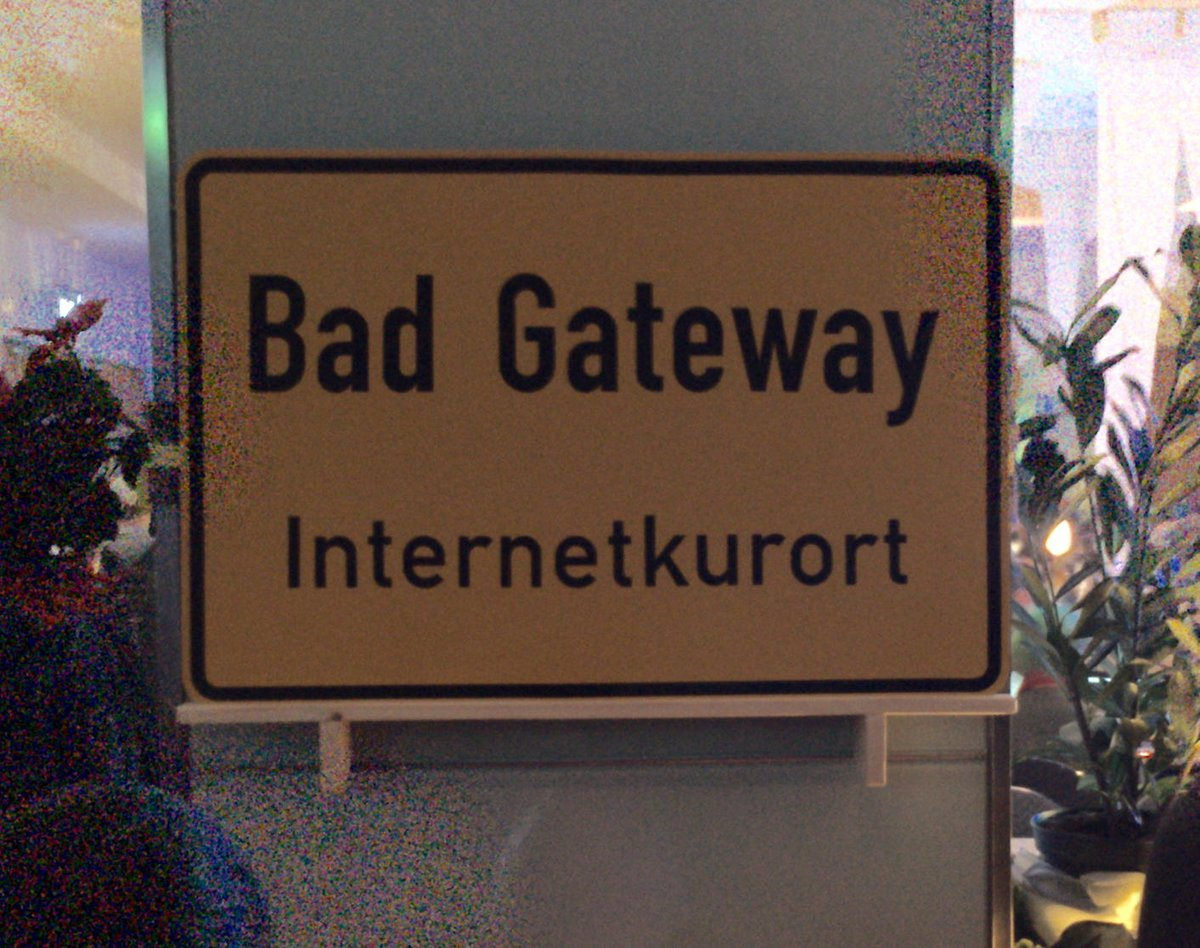 Bad Gateway #32c3 https://t.co/OhSViv6EF1