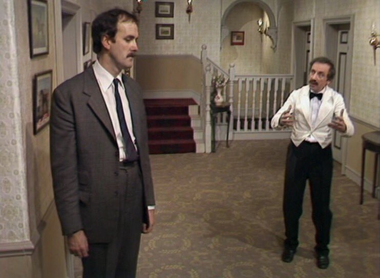 Image result for fawlty towers