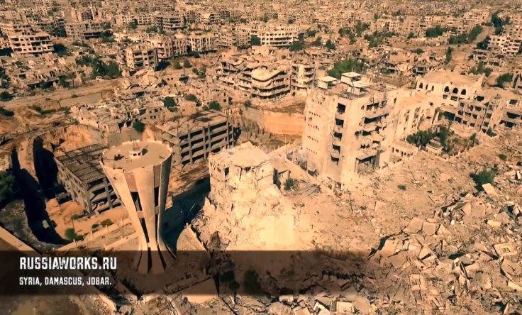 Drone footage shows 'apocalyptic scenes' of #Syria' https://t.co/fdC59WET4Z https://t.co/flMb4TuqLw