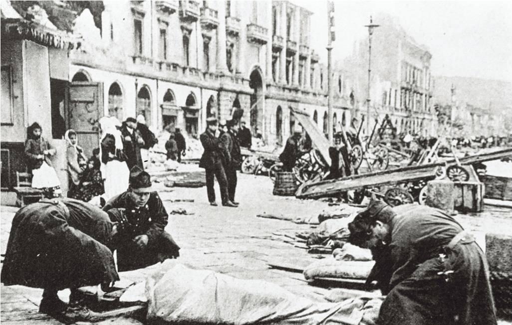 Terremoto Oggi tra Calabria e Sicilia Magnitudo 7,1: era il 28 settembre 1908 quando un maremoto (tsunami) distrusse entrambe le sponde dello stretto di Messina