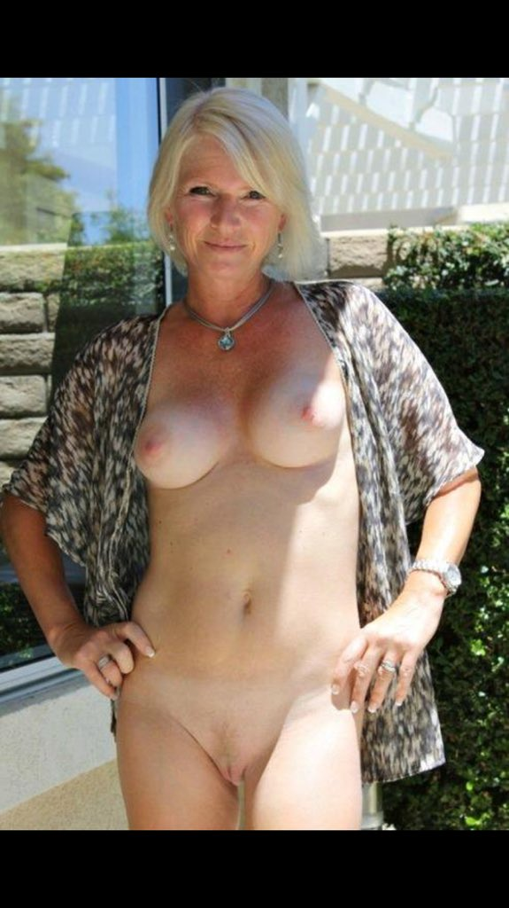 Have naked mature women with gray hair